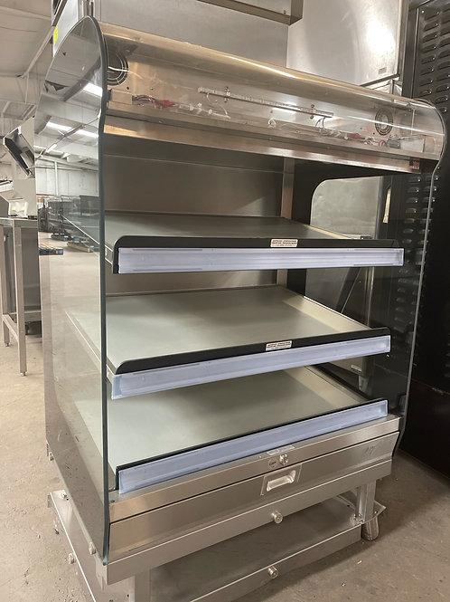 1-0383 Alto Shaam HSM-36-3S-CT Countertop/Floor  Heated Shelf Merchandiser