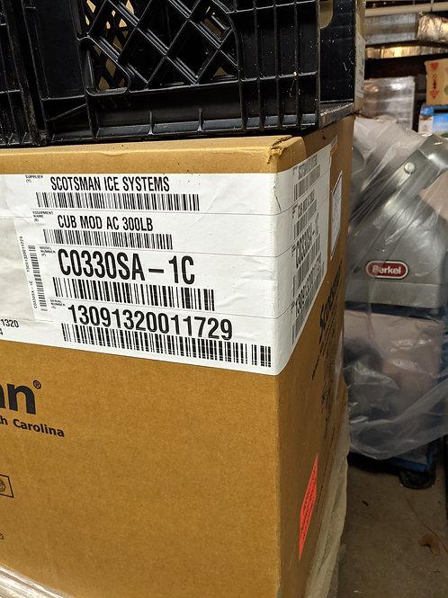 124-0026 Scotsman C03305A-1C 400 lb. Ice Maker and Bin.