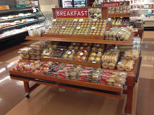 1-0036 Bakery Display Table