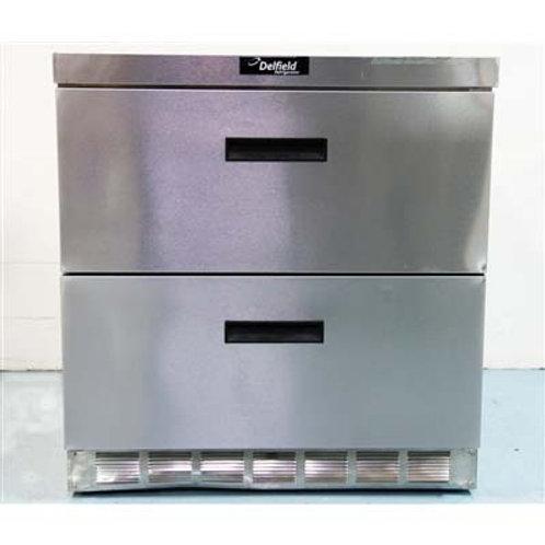 15-0072 Delfield Megatop Refrigerator - UCD4432N