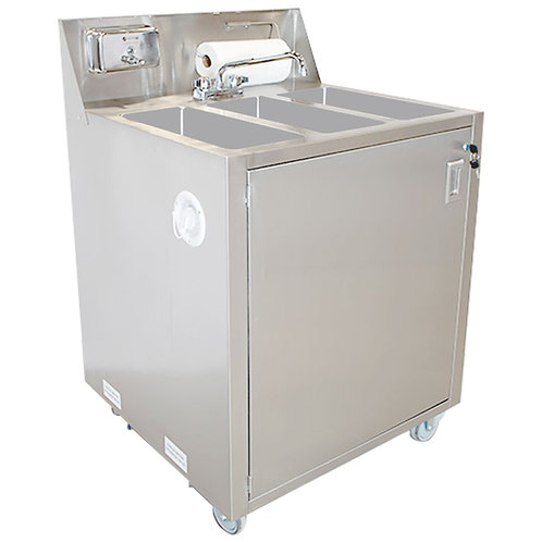 76-0020 Triple Basin Self Contained Sink
