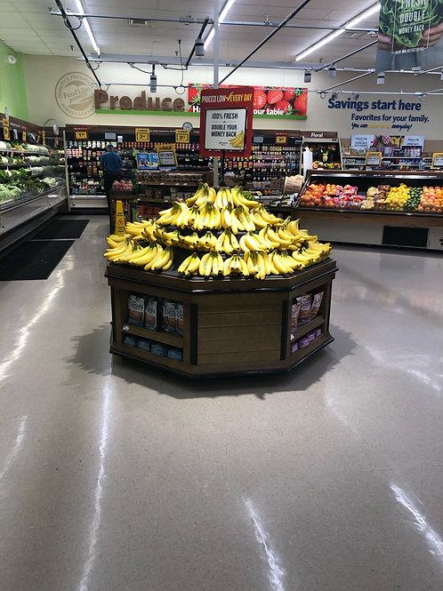 1-0359 Banana Produce Table 5 x 5