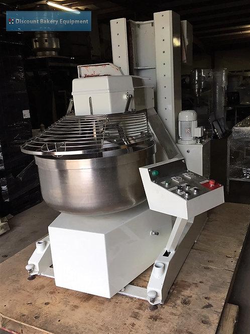 8-0057 Berto Italia Overturnable Spiral Mixer, Model 160AR