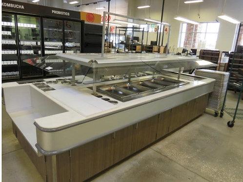 1-0053 Custom 12' Hot Food Bar
