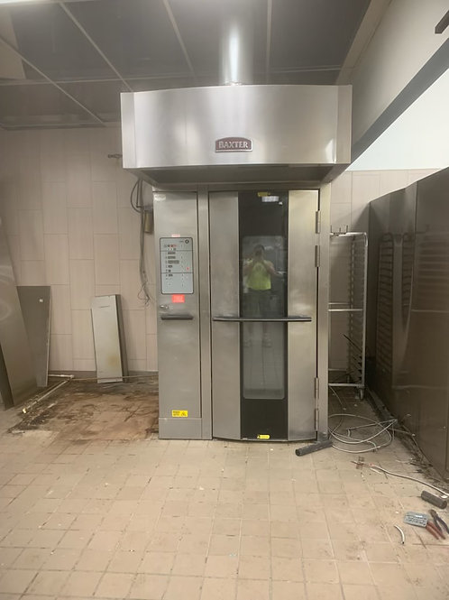 142-0076 Baxter Natural Gas OV500G1 Single Rack Roll In Convection Oven