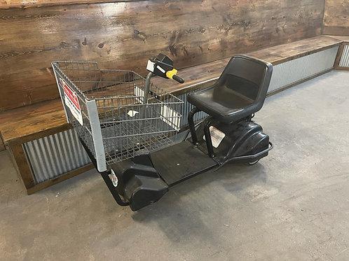 1-0358 Power Mart Grocery Shopping Cart-New Battery