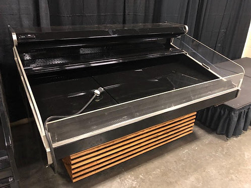 1-0221 Barker 6 Foot Self Contained Produce Case