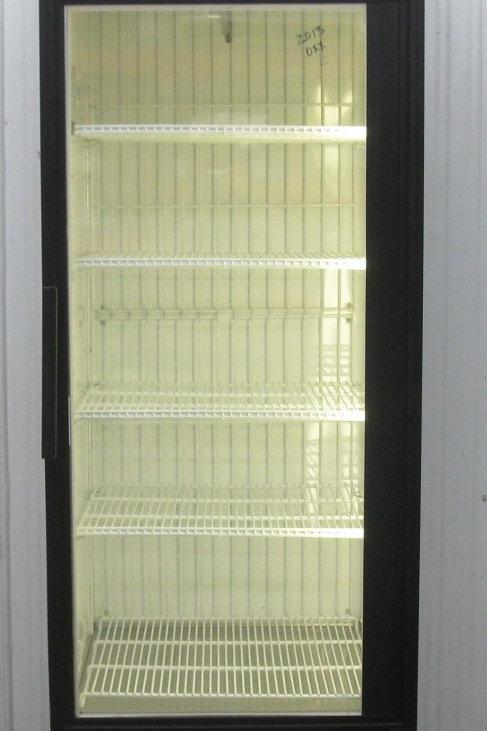 142-0059 True GDM-23F Glass Single Door Reach In Freezer