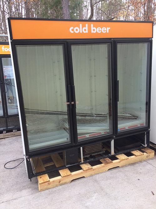 3 Door Self-contained Cooler