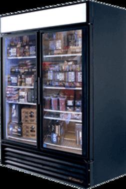 76-0014 True GDM-49F 2 Door Freezer-Self Contained