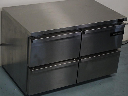 "15-0089 Continental Refrigerator SW48-U-D 48"" Undercounter"
