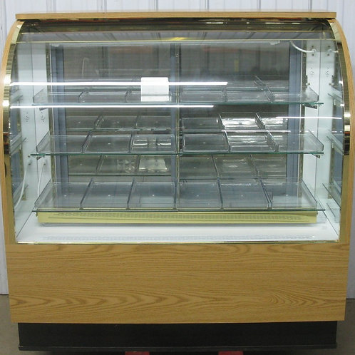 142-0046 Alternative Air 4′ Curved Glass Candy Display Case