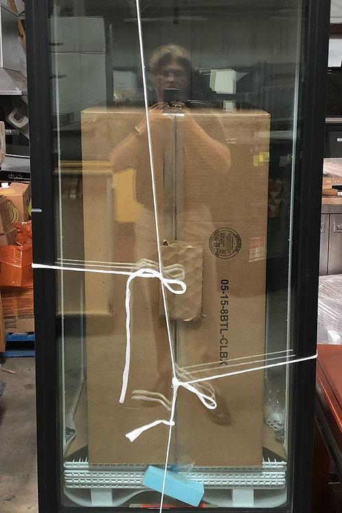 1-0186 True 1 Door Cooler