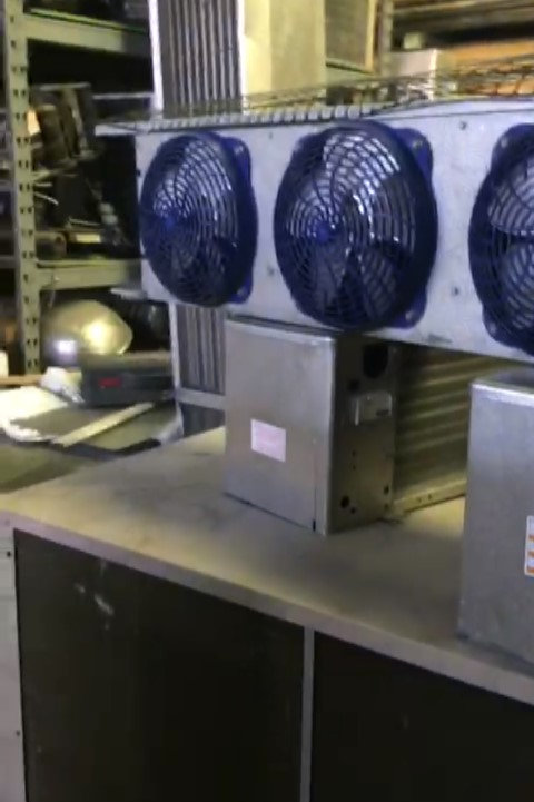 118-0019 Walk In Cooler 20x36x10 with Condensing Unit and Evaporator