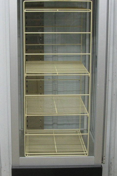 142-0004 Hatco Hot Food Holding Cabinet Pizza Warmer Display Case