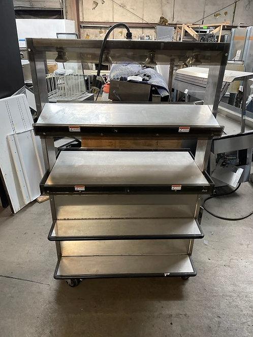 1-0364 Hickory Industries DWPK-40 Pedestal Food Warmer