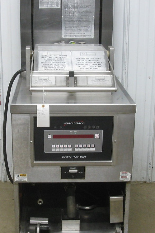 142-0057 Henny Penny 591 High Volume Electric Chicken Pressure Fryer w/ Filter S