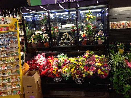 1-0017 Barker Remote Floral Coolers