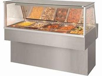 82-0014 Fri‐Jado Countertop Heated Deli Case-5 Pan