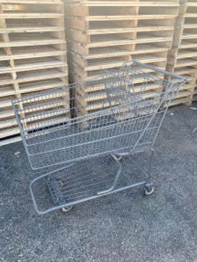 14-0019 Large Reconditioned Shopping Cart