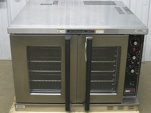 142-0047 BKI COB-E Full Size Electric Commercial Convection Oven w/ Legs