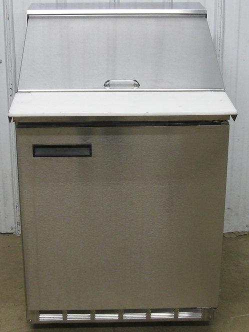 142-0060 Delfield 27″ One Door Mega Top Refrigerated Sandwich Salad Prep Table