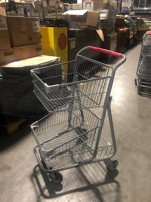 42-0055 Shopping Cart 2 Tier
