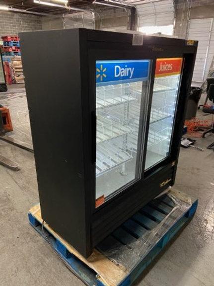 20-0015 True GDM41SL-54-LD 2 Door Cooler Self Contained