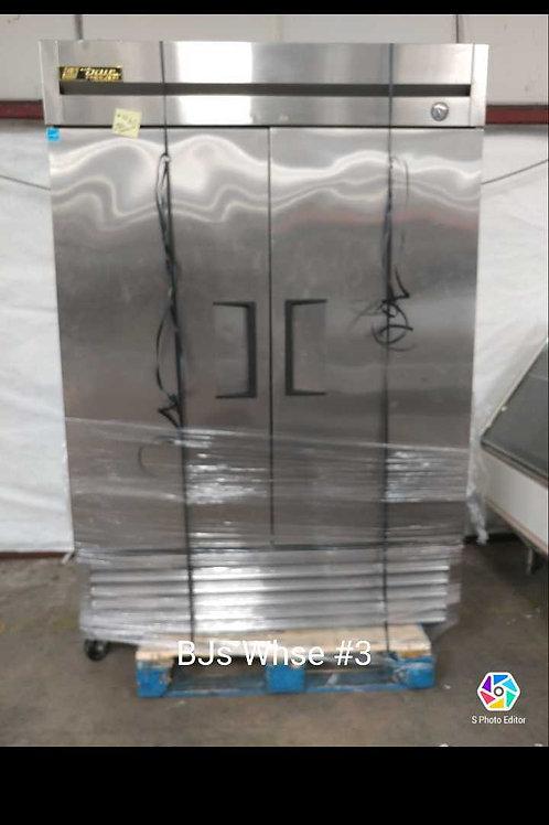 1-0120 True SS 2 Door Freezer