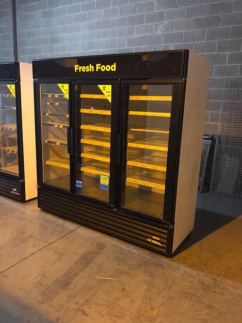 20-0005 True GDM-72 3 Door Self Contained Cooler