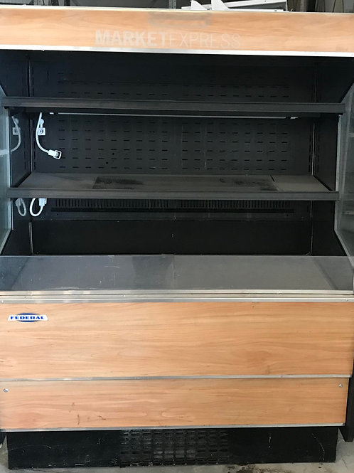 129-0017 Federal Industries 4' Self Contained Refrigerated Merchandiser