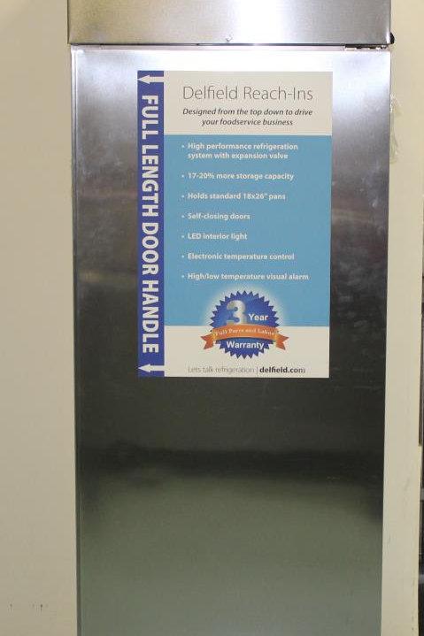 15-0064 Delfield GCR1P-S Reach In Refrigerator