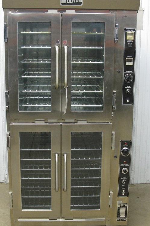 142-0065 Doyon JAOP-6 Electric Jet Air Convection Oven Proofer Combo