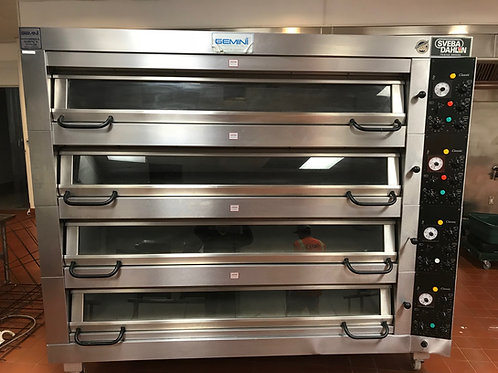 66-0009 Sveba Dahlen 4 Deck Oven