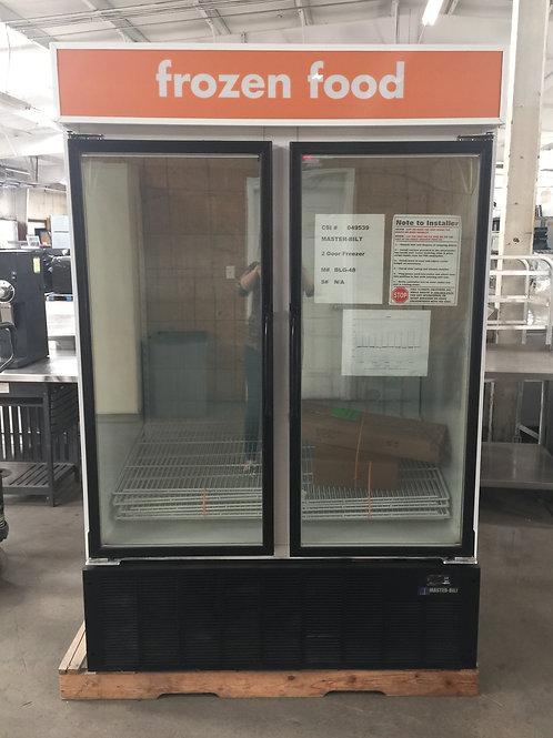 1-0166 Master-Bilt 2 Door Self Contained Freezer