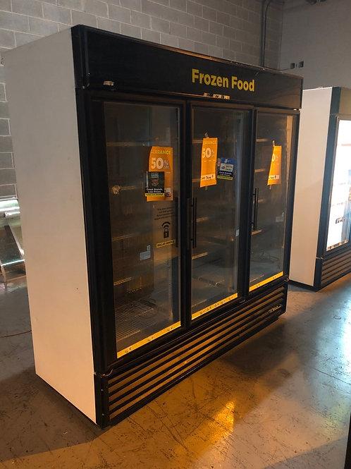 20-0006 True GDM-72F 3 Door Self Contained Freezer