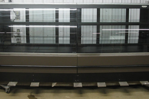 142-0058 Hill Phoenix 115″ Remote Curved Glass Bakery Donut Dry Display Case