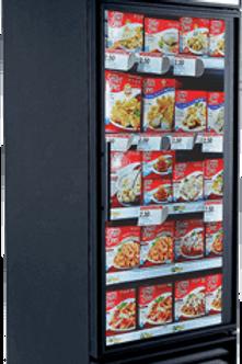 76-0016 True GDM-26F 1 Door Freezer-Self Contained