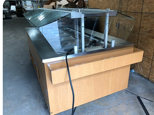 1-0371 Amtekco 8 Foot Self Contained Salad Bar