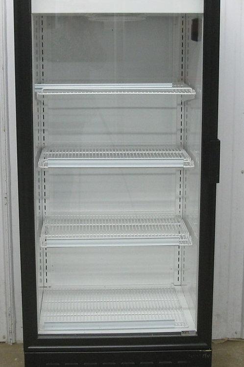 142-0067 MTL Glass Door Dual Temp Cooler Refrigerator