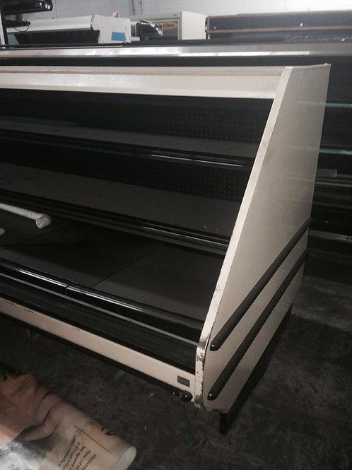 1-0030 6' low profile open merchandiser