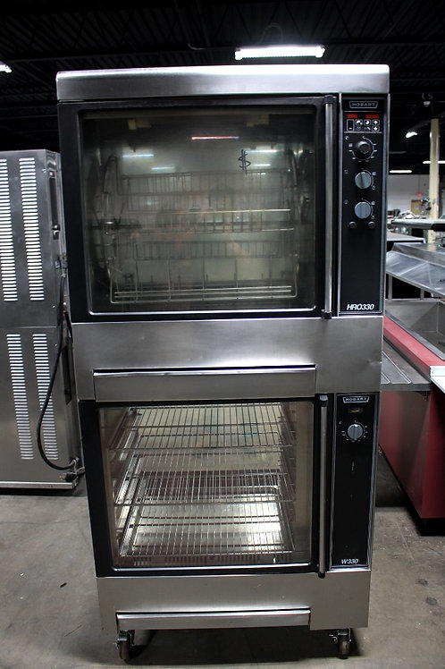 Hobart Double Stacked ROTISSERIE W/ WARMER