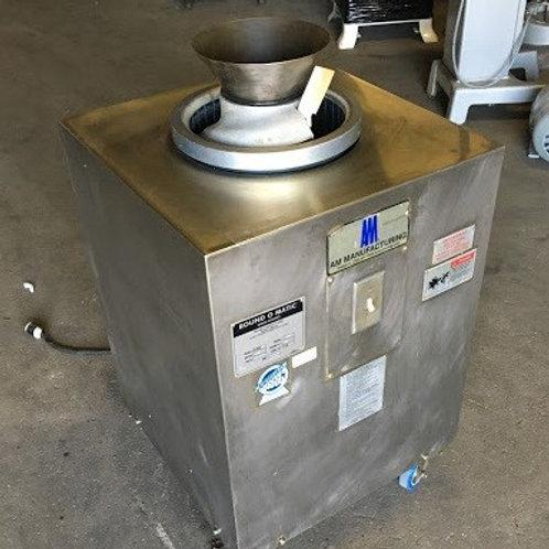 8-0048  AM Mfg  Round O Matic R900RT Dough Rounder