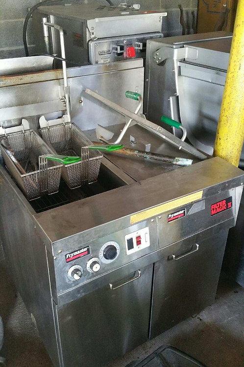 21-0050 Frymaster Fryer Filter Magic II with Ventless Hood