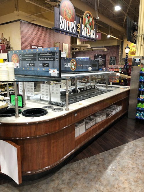 121-0001 15' Soup and Salad Bar