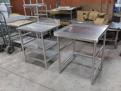 82-0048 Stainless Steel Work Tables-Variety of Sizes