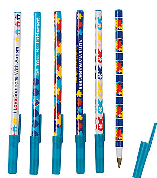 Autism Awareness Pens (72 pieces)