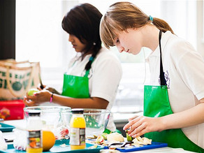 Get kids cooking proper food
