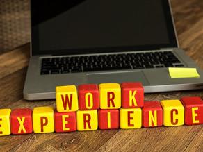 Work experience is key