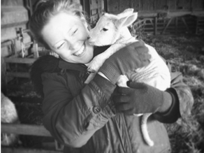The one where I introduced a townie to lambing...